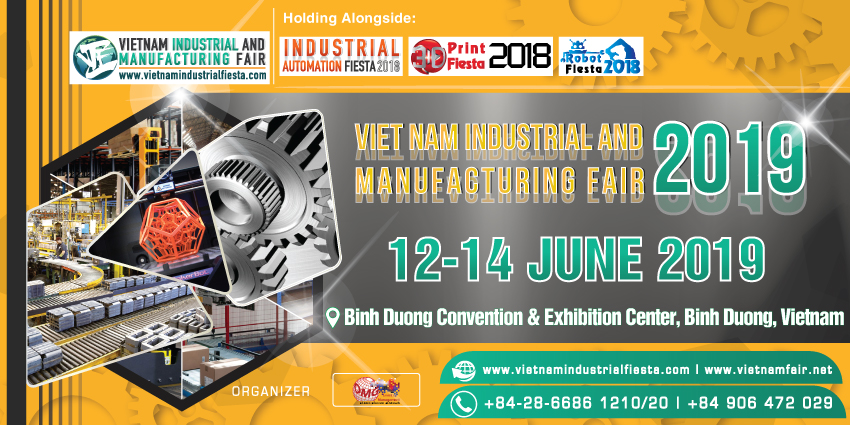 Vietnam Industrial & Manufacturing Fair 2019